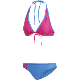adidas BW 3-Stripes NH Bikini Donna, real magenta/true blue